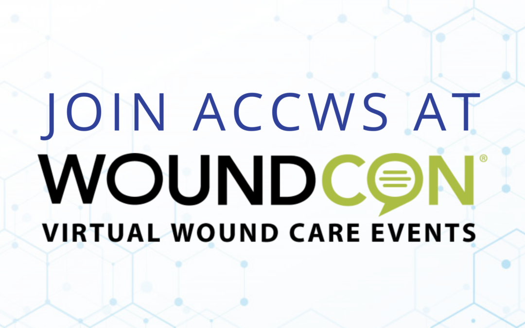 Join ACCWS at WoundCon Summer 2021